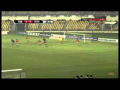 Hero Fed Cup 2014 - 2015 DEMPO (4) VS SPORTING CLUBE DE GOA (1) Match Highlights 1-01-2015