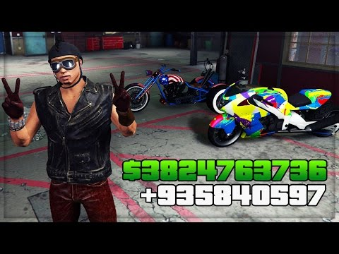 GTA 5 DLC UPDATE ONLINE - BUYING ALL BIKER DLC ITEMS/VEHICLES (GTA 5 ONLINE DLC GAMEPLAY)