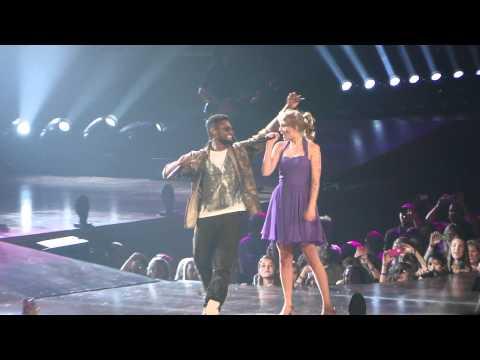 Taylor swift and Usher atlanta