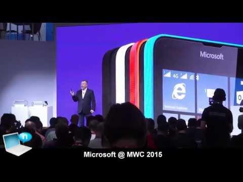 Microsoft @ MWC 2015 - Lumia 640, Lumia 640 XL, Windows 10, Universal Apps