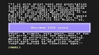 C64 Zork The Undiscovered Underground 1997InfocomSide B d64