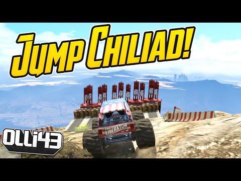 Gta 5 Custom Job Showcase: Monster Truck Jump! - Episode 38 video
