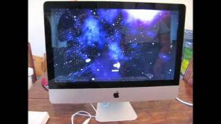 Just Another Unboxing Video_ New 21.5 iMac & 1st Time Startup (Oct. 2009)