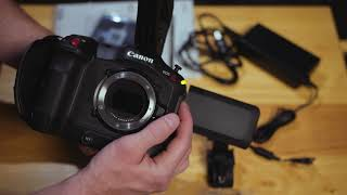 New Hardware! Canon C70 Unboxing, Initial Setup and Initial Review