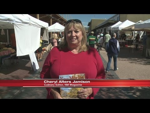 NM Magazine Farmer's Market Shopping