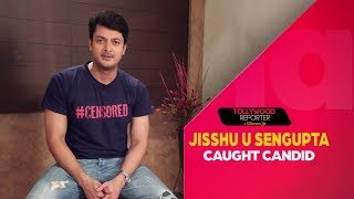 Jisshu Sengupta Caught Candid | Jio Pagla | Tollywood Reporter in 120 Seconds | Sangeet Bangla