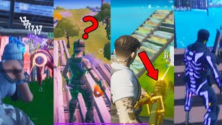 doing every fortnite challenge in one video