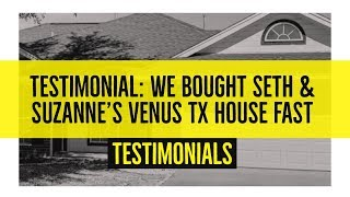 Happy Buy Homes Reviews -  They Helped Me Sell My Dallas Fort Worth House FAST
