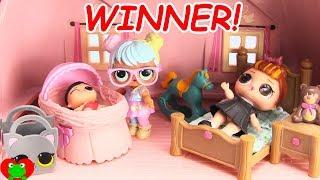 LOL Surprise Dolls Win Dream House