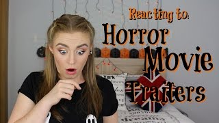 Reacting to Horror Movie Trailers #1 | Kirstie Bryce