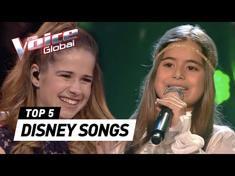 The Voice Kids | BEST DISNEY SONGS