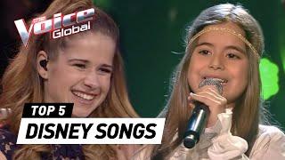 The Voice Kids | BEST DISNEY SONGS