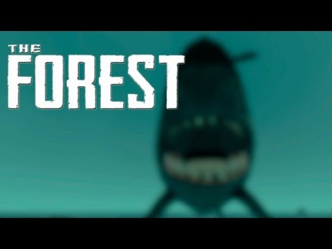 The Forest  # 13 Alpha 0.02 Tiburones, Balsa y Techos  [HD] Español