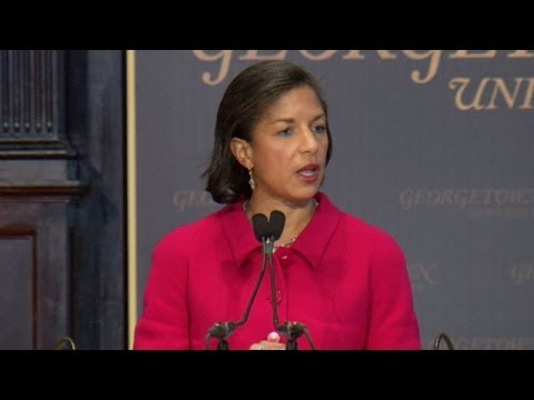 National Security Advisor Susan Rice Speaks at Georgetown