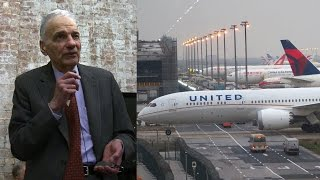 "Ralph Nader Explains Why United Airlines Has ""Total Unbridled Discretion to Throw You Off a Plane"""