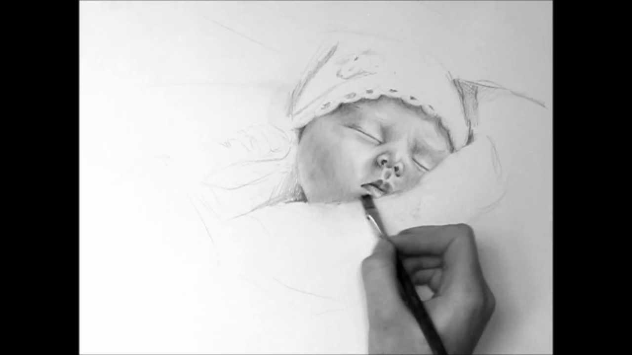 Hosannah baby speed drawing HD - YouTube