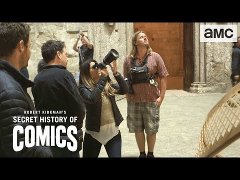 Patty Jenkins On Wonder Woman  | Robert Kirkman's Secret History Of Comics