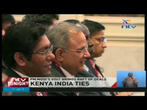 Indian Prime Minister Narendra Modi brings raft of deals