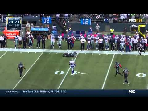 Dallas Cowboys at Seattle Seahawks 30-23 Highlights | Week 6 NFL 2014-15