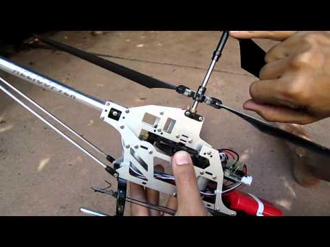 How to repair a Volitation 9053. 9101. and other coaxial RC helicopters