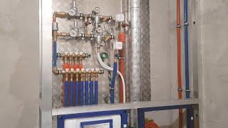 Монтаж водоснабжения и отопления TECE в однокомнатной квартире, г. Жуковский, ул. Амет-Хан Султана