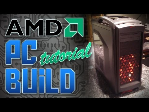 2014 AMD GAMING PC BUDGET BUILD   Tutorial & Parts List