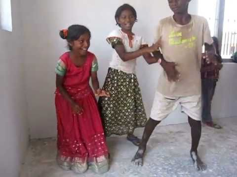 Indian dance party in Chevuru Village!