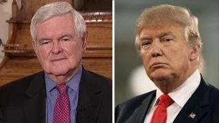 Gingrich calls on media to 'get off this Trump bashing'