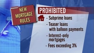 New Mortgage Regulations Require Proof of Ability to Repay