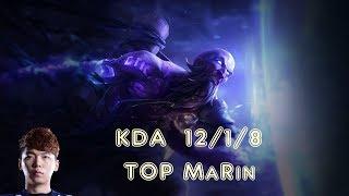 TOP MaRin RYZE vs ILLAOI Top TOP MaRin (League Of Legends Challenger Replay)