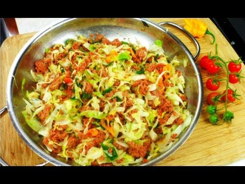 Quick Caribbean Corned Beef With Cabbage Recipe. | How To Save Money ...