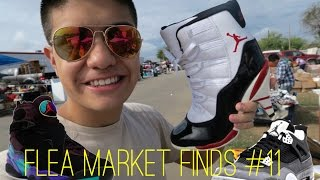 Flea Market Finds #11 | Jordan 11 Heels! Aqua 8! Fear 4! | LegitLooksForLife