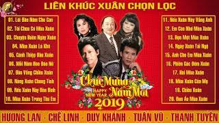 Nhạc Xuân Xưa Danh Ca Hải Ngoại 2019 Hay Nhất | Duy Khánh, Chế Linh, Thanh Tuyền, Tuấn Vũ, Hương Lan