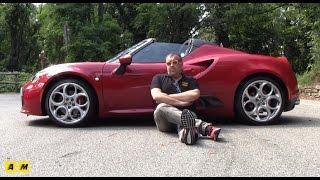 Alfa Romeo 4C Spider   Test Drive #AMboxing [ENGLISH SUB]