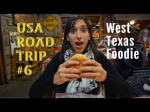 USA Road Trip #6 - I'm a West Texas Foodie (in Lubbock)
