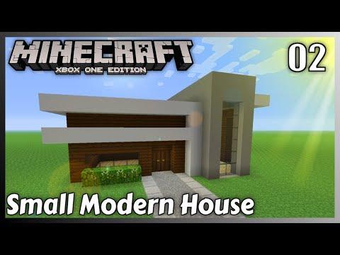 Minecraft House Tutorial Small Modern House 3 Minecraft Xbox