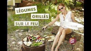 🔥LÉGUMES GRILLÉS SUR LE FEU, GRILL, BBQ 🔥Tuto recette facile