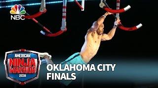 Karsten Williams at the Oklahoma City Finals - American Ninja Warrior 2016