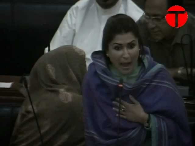 Shazia Marri, Marvi Rashdi fight it out in Sindh Assembly