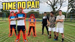 TIME DO PAI vs VOSSO CANAL - ( TEVE BRIGA!! )