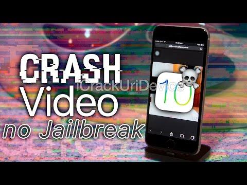 iPhone Crash Video iOS 10 & 10.2 NO Jailbreak - The Ultimate iPhone Prank (Turn Off)