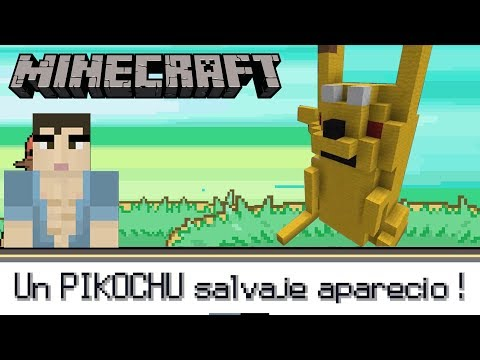 UN PIKOCHU SALVAJE APARECIO! Build Battle MINECRAFT en Español - GOTH