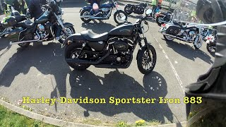 Test Riding the Harley Davidson Sportster Iron 883 XL883N