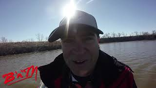 Crappie Kirby using Garmin Livescope, BnM Poles and Crappie Magnets at Parsons Lake Dec 23rd 2018