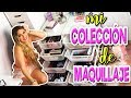 MI COLECCIÓN DE MAQUILLAJE!!! 😱 y ROOM TOUR 2019