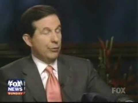 Bill Clinton Fox News Sunday Interview w/ Chris Wallace pt1