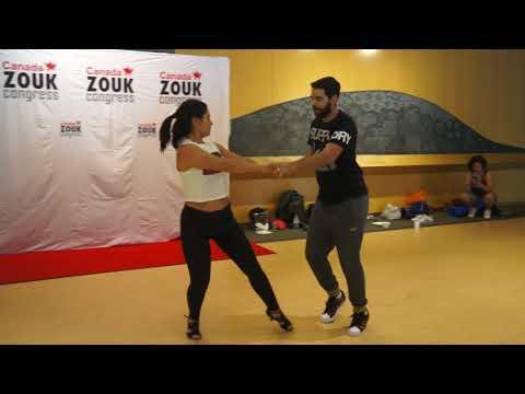 CZC18 Freddy & Andressa workshop demo 1 ~ Zouk Soul