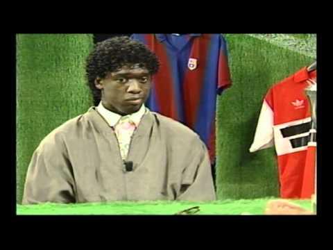 1992: interview van Wilfred Genee met 16-jarige Clarence Seedorf