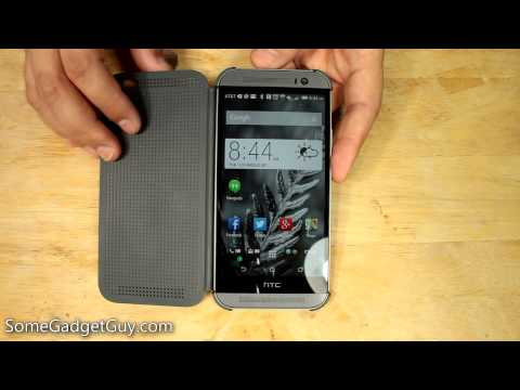 HTC Dot View Flip Case Review for the One M8
