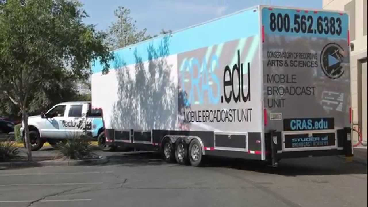 Mobile Broadcast Truck Cras Mobile Broadcast Truck at